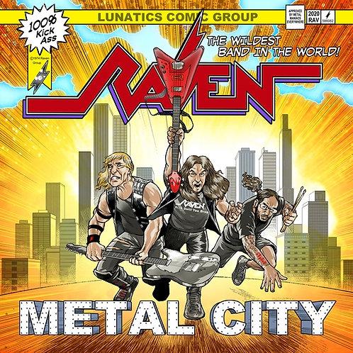 RAVEN - Metal City - DIGI CD