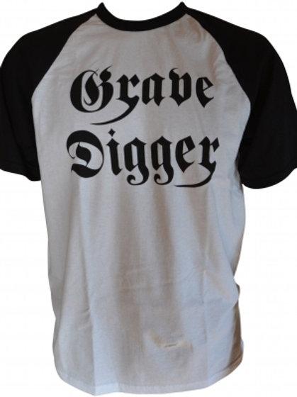 GRAVE DIGGER - Vintage Logo - T shirt