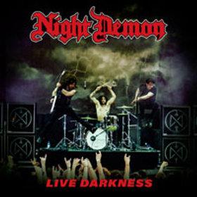 NIGHT DEMON - Live Darkness - DIGI 2 CD
