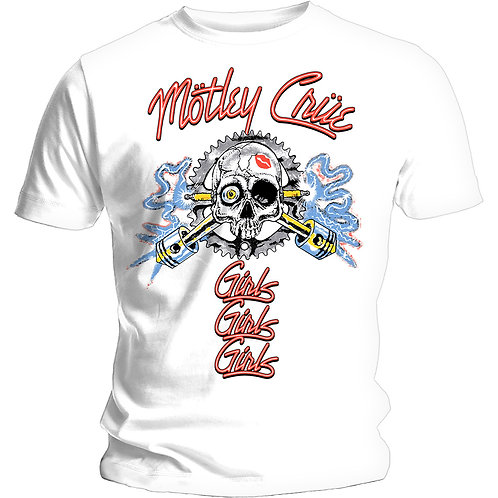 MOTLEY CRUE - Vintage Spark - Official T shirt