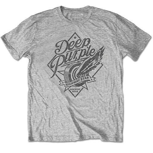 DEEP PURPLE - Highway Star - Official T-shirt