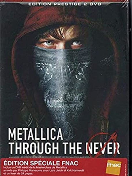 METALLICA - THROUGH THE NEVER - DIGISLEEVE 2 DVD