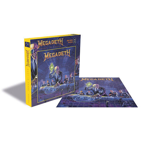 PUZZLE - MEGADETH - RUST IN PEACE