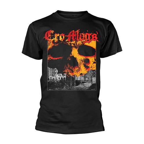 CRO-MAGS - DON'T GIVE IN - Official T-shirt