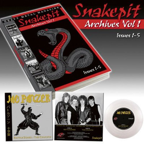 SNAKEPIT ARCHIVES VOL 1 with JAG PANZER EP