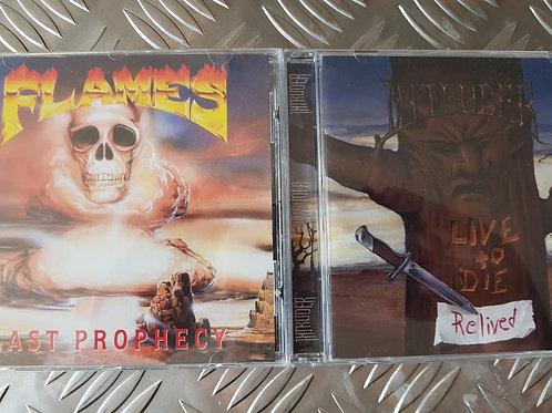INTRUDER VS FLAMES BUNDLE - 2CD