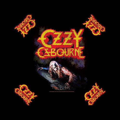 BANDANA - Ozzy Ozbourne - Bark At The Moon