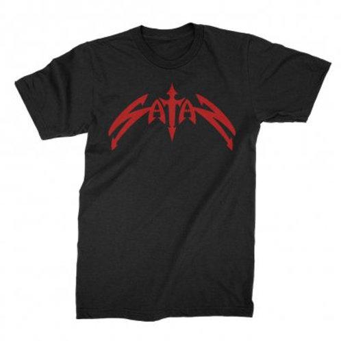 SATAN - Classic Logo - Official T shirt