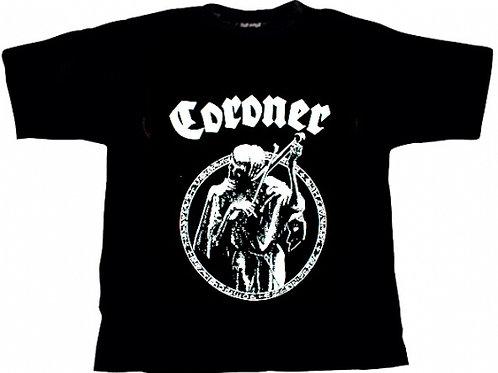 CORONER - Classic Logo - T shirt