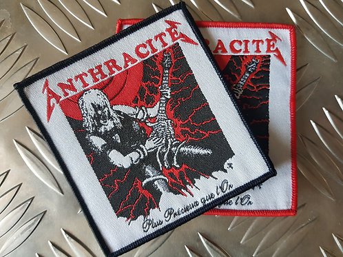 ANTHRACITE - Plus précieux que l'Or - OFFICIAL WOVEN PATCH