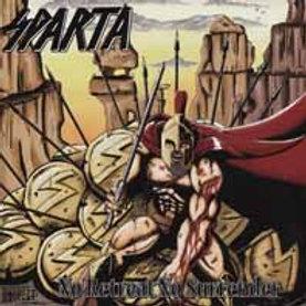 SPARTA - No Retreat No surrender - CD
