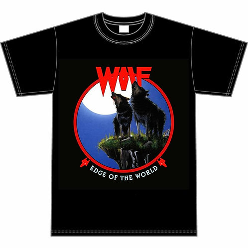 WOLF - Edge Of The World - Official T shirt