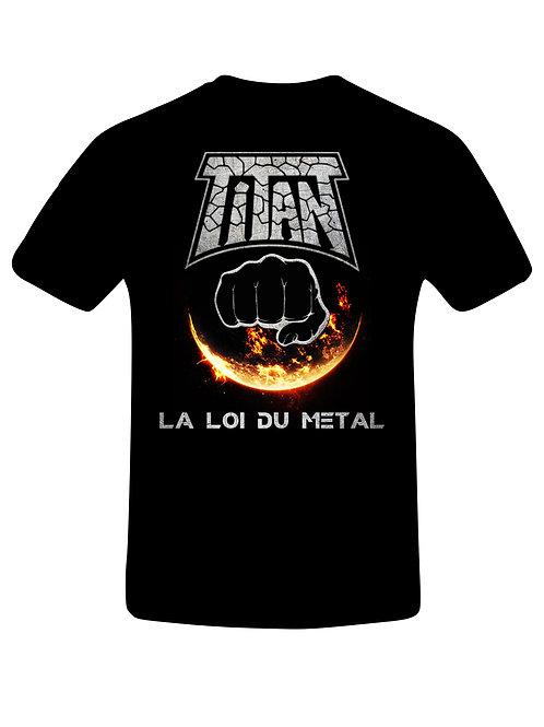 TITAN - La Loi Du Metal - T shirt