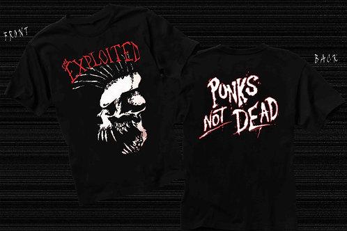 THE EXPLOITED - Punks Not Dead - Official Shirt