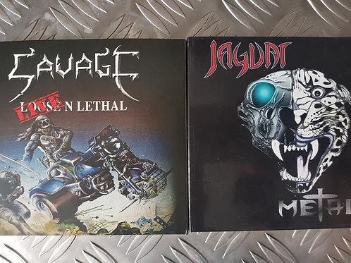 JAGUAR VS SAVAGE BUNDLE - 2CD