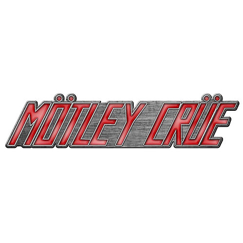 MÖTLEY CRÜE - Badge Metal