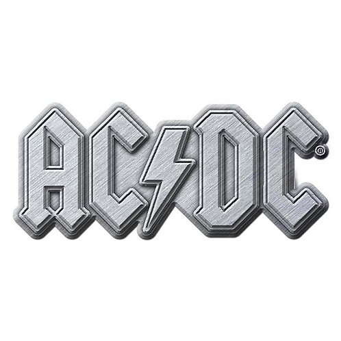AC/DC - Badge Metal