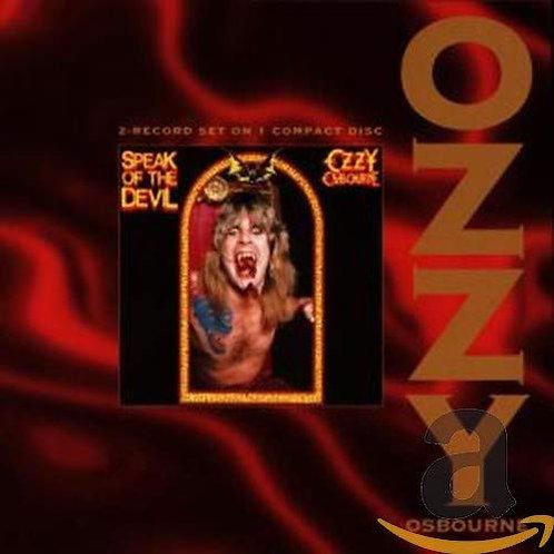 OZZY OSBOURNE - Speak Of The Devil - 2 CD