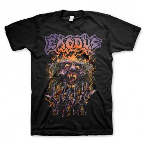 EXODUS - Splatter Head - Official T Shirt