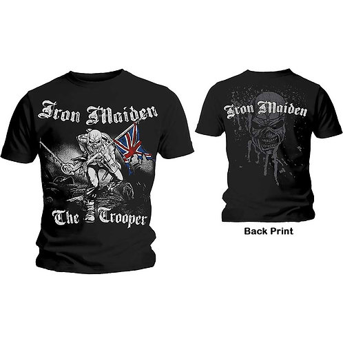 IRON MAIDEN - Sketched Trooper - Official T shirt