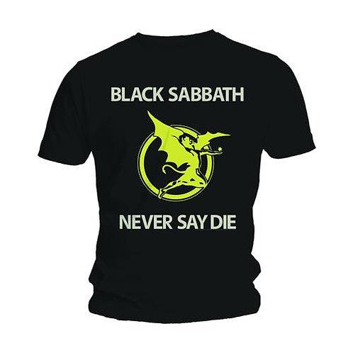 BLACK SABBATH - Never Say Die - Official T-shirt