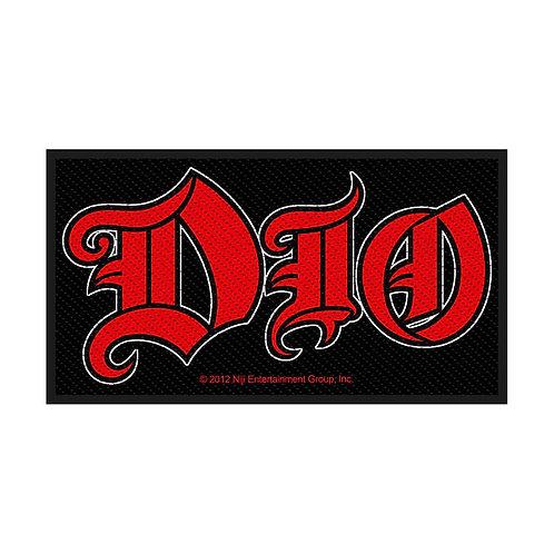 DIO - LOGO - OFFICIEL WOVEN PATCH