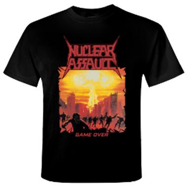 NUCLEAR ASSAULT - Game Over - T shirt