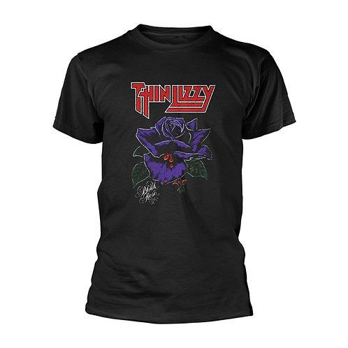 THIN LIZZY - Black Rose T shirt