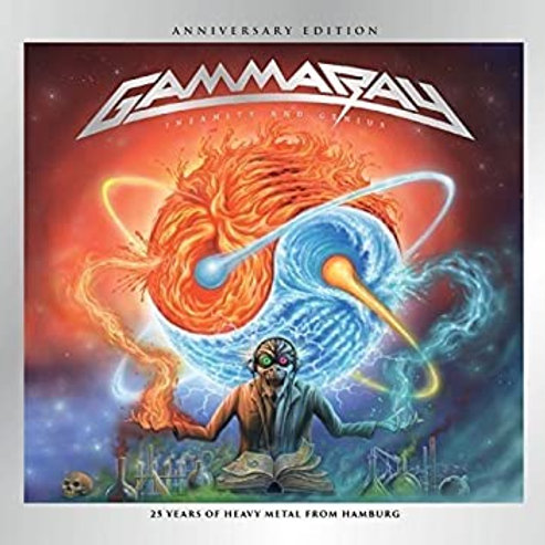 GAMMA RAY - INSANITY AND GENIUS ANNIVERSARY EDITION - DIGI 2 CD