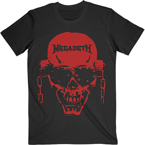 MEGADETH - Vic Hi-Contrast Red