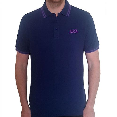 Black Sabbath - Official Polo shirt - Blue