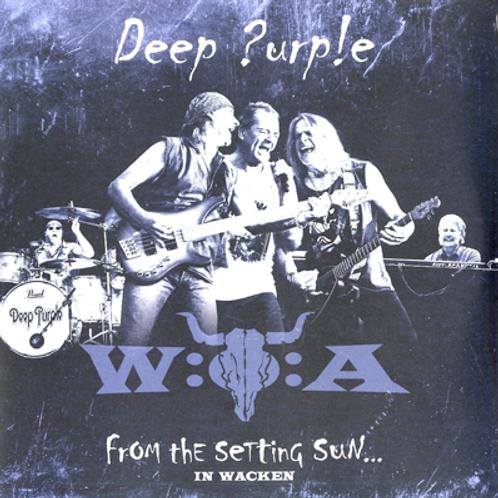 DEEP PURPLE - FROM THE SETTING SUN IN WACKEN - 2 DIGI CD + DVD