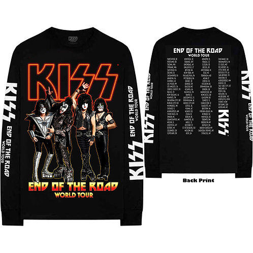 KISS - The End Of The Road - Longsleeve