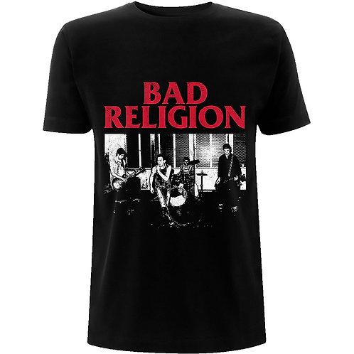BAD RELIGION - Live 1980 - Official T shirt