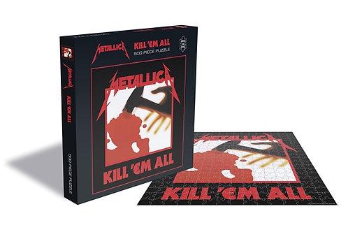 PUZZLE - METALLICA - Kill 'Em All