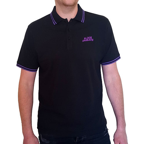 Black Sabbath - Official Polo shirt - Black