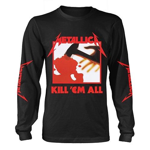 METALLICA - KILL'EM ALL BLACK