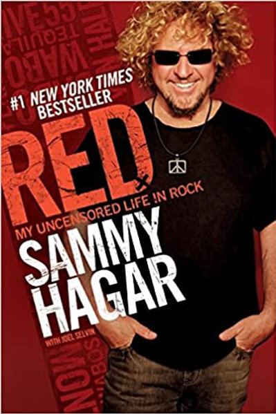 SAMMY HAGAR - RED MY UNCENSORED LIFE IN ROCK