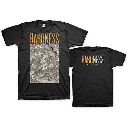 BARONESS - Gold and Grey - T shirt