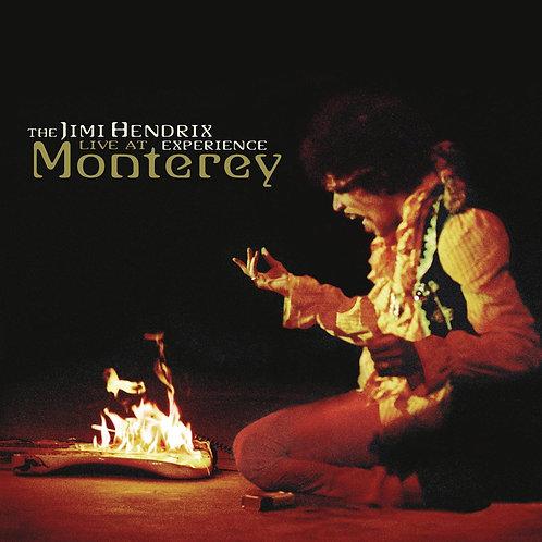JIMI HENDRIX - LIVE AT MONTEREY - DIGI CD