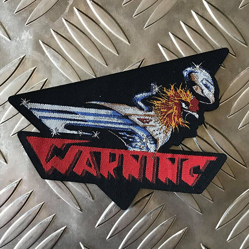 WARNING - Woven Patch