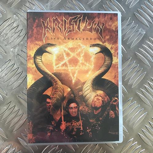 DVD - KRISIUN - Live Armageddon