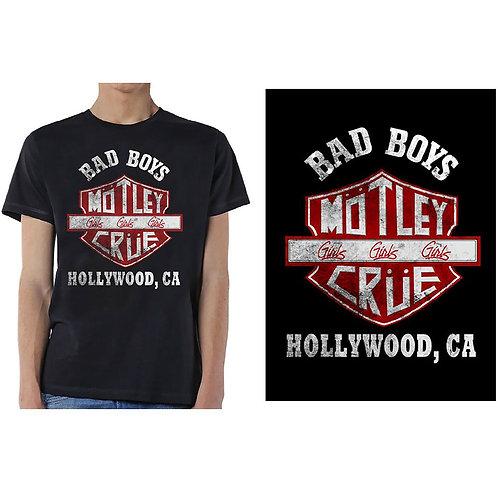 MOTLEY CRUE - Bad Boys - Official T-shirt