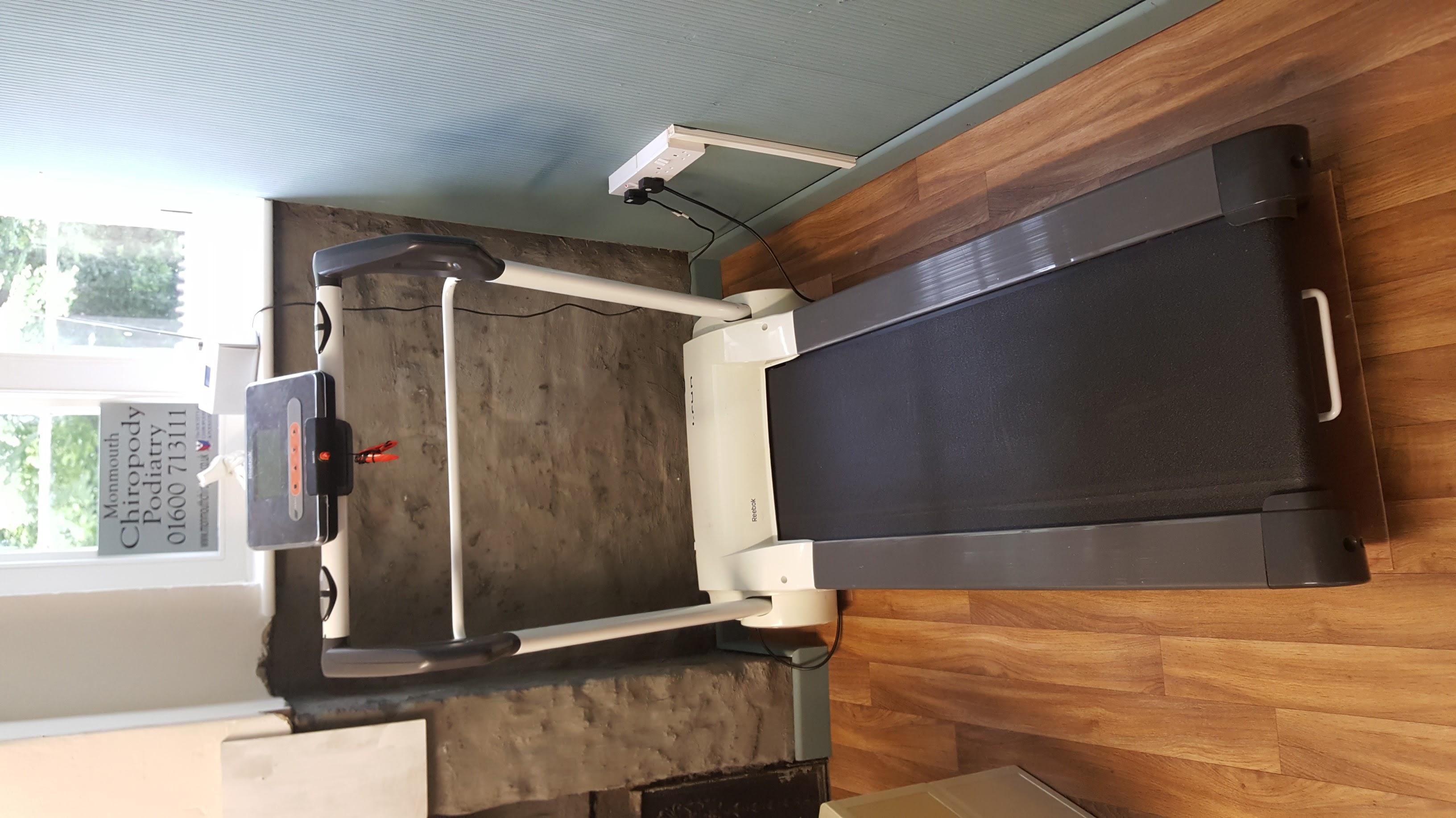 Monmouth Podiatry treadmill