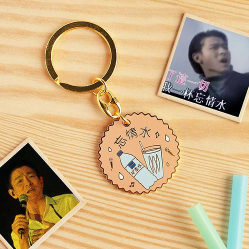 Wang Qin Shui keychain