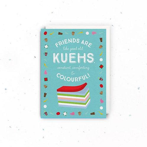 Friends Are Like Kuehs Greeting Card