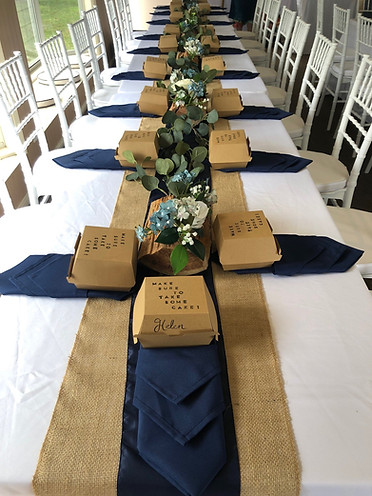 Rustic reception styling Blue Summit Cottages, Maleny
