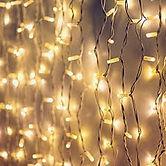 Warm white fairy lights