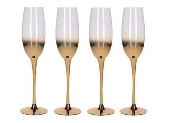 Glassware - Gold Glasses