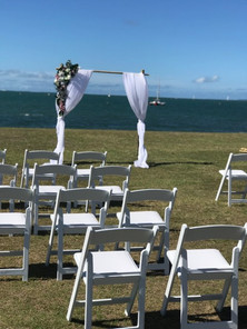 Ceremony at Raby Bay Foreshore